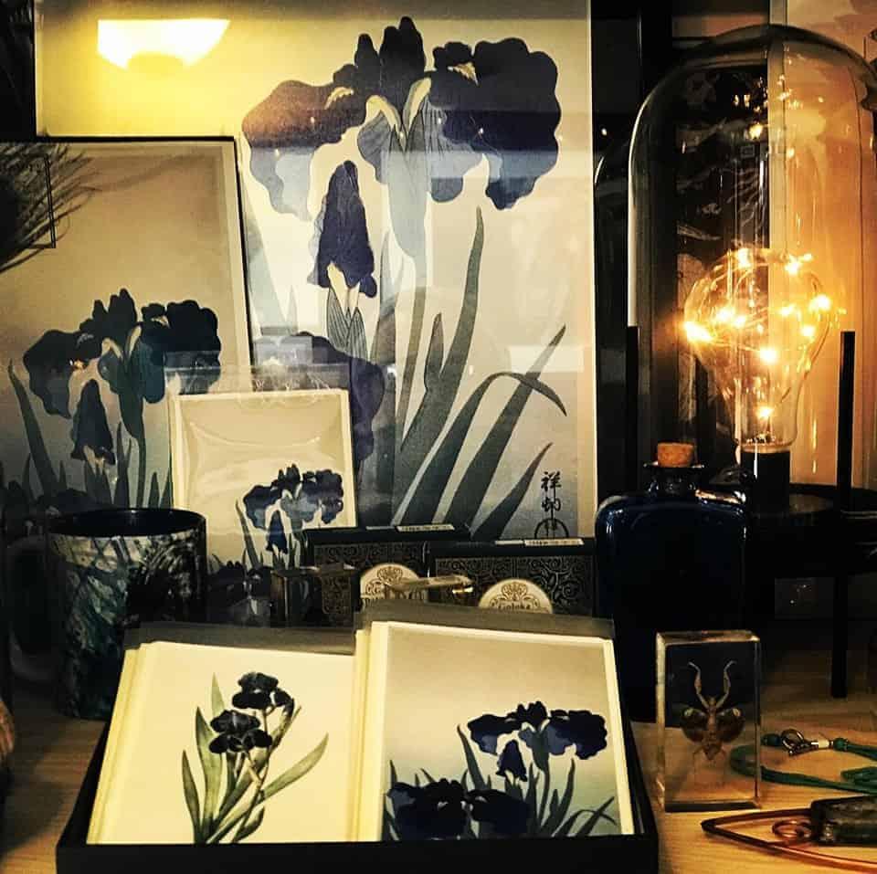 Iris Flowers by Japanese artist Ohara Koson