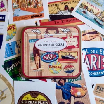 Vintage Travel Stickers