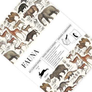 Fauna gift and creative paper book