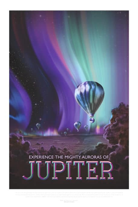 Experimenta las Poderosas Auroras de Júpiter