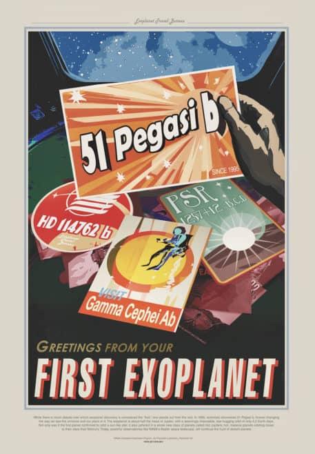 Saludos desde tu primer exoplaneta