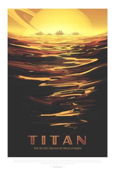 Surfea en Titán