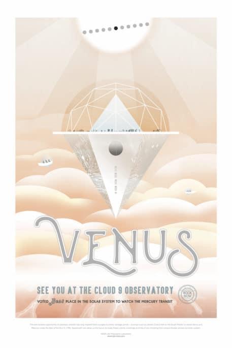 Venus :: Nos vemos en el Observatorio de la nube 9