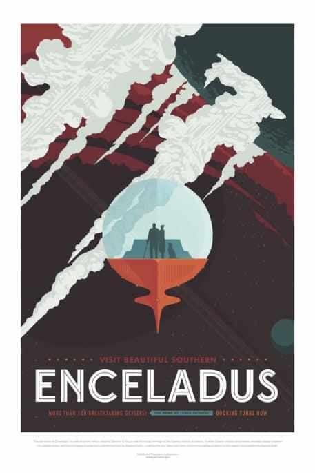 Visit Beautiful Southern Enceladus