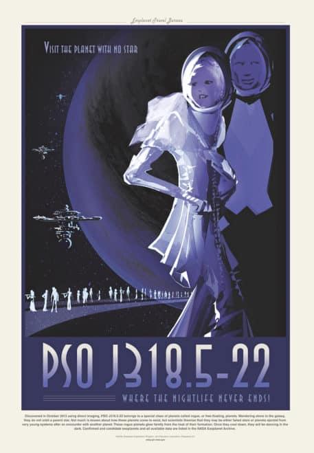 PSO J318.5-22 :: Visita el planeta sin estrella