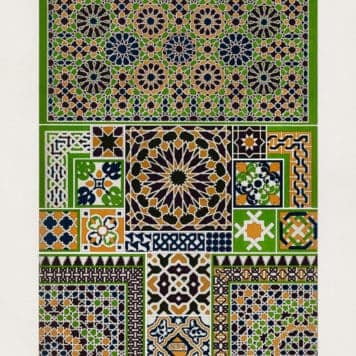 Moresque pattern