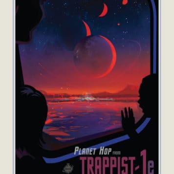 Salta planetas desde Trappist 1-e