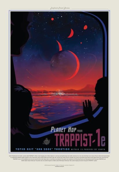 Planet Hop from Trappist 1-e