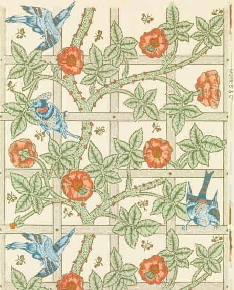 Enrejado de William Morris