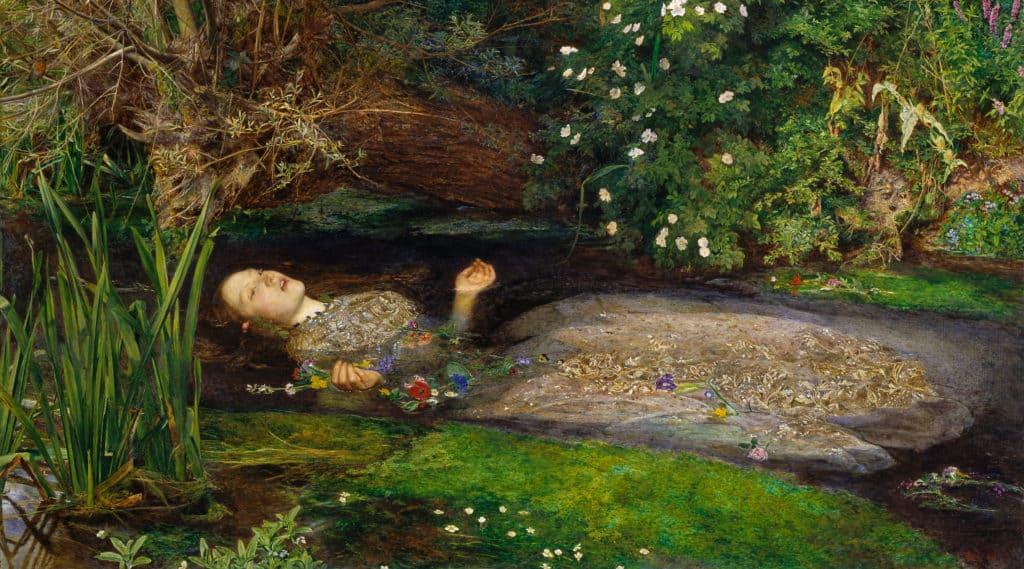 Ophelia, by John Everett Millais