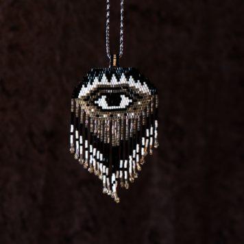 Bead Eye Necklace Pendant