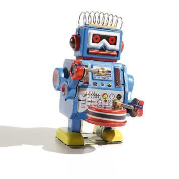 Big Band Tin Robot