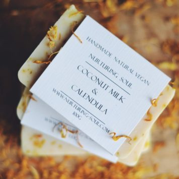Coconut Milk Calendula Soap