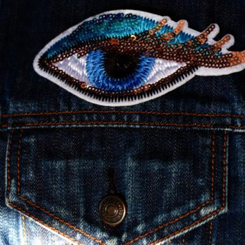 Embroidered Patch Big Eye