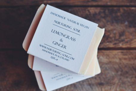 Lemongrass With Ginger Soap