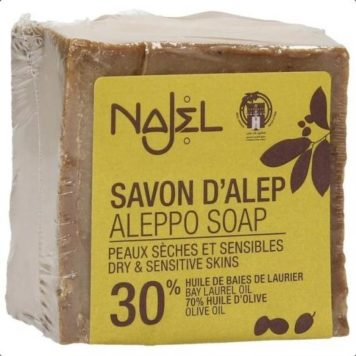 Najel Aleppo Jabón 30 Bay Laurel Oil
