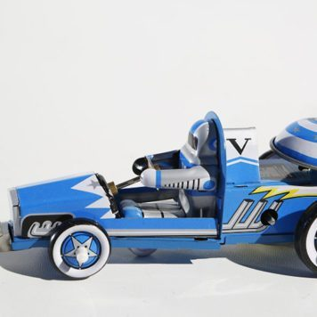 Racing Space Car Blue