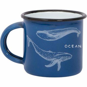 Ocean Lovers enamel mug