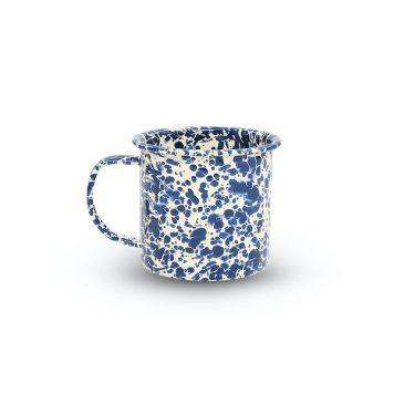Navy Blue Splatter Mug