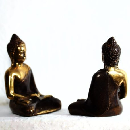 Figura de Bronce Fundido de Buda