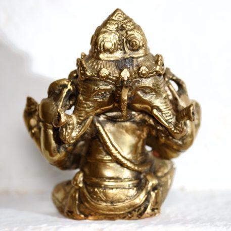 Bronce fundido de Ganesha