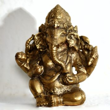 Cast Bronze of Ganesha