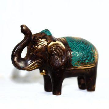 Cast Bronze of an Elephant