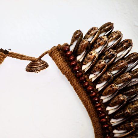 Collar de conchas marinas de Papúa