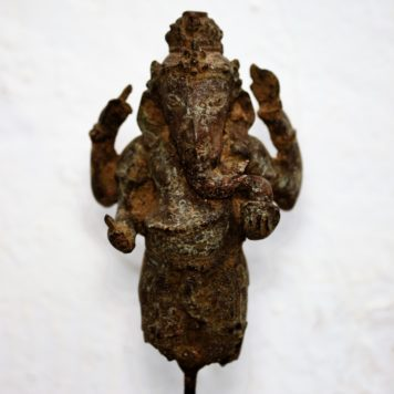Vintage Cast Bronze of Ganesha