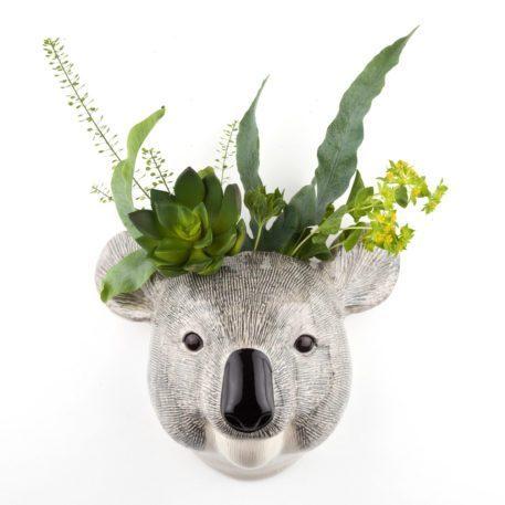 Epic Ceramic Koala Wall Flower Vase - Large