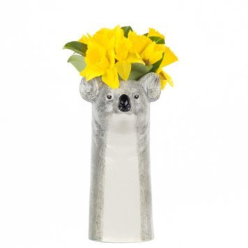 Cute Ceramic Koala Flower Vase - Large