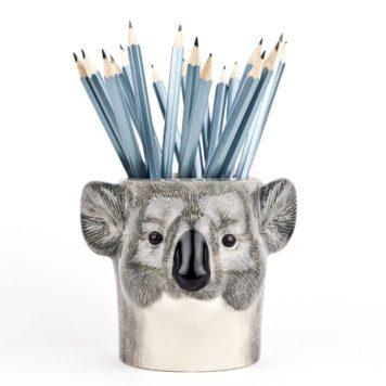 Cute Ceramic Koala Pencil Pot