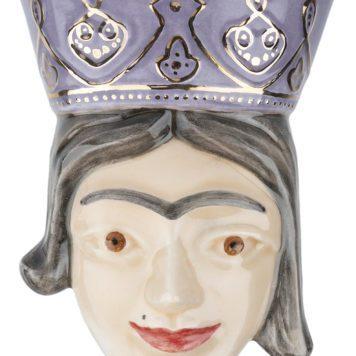 Unique Ceramic Persian Queen Bust