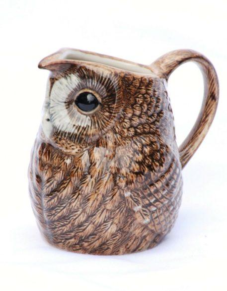 Delightful Ceramic Tawny Owl Jug
