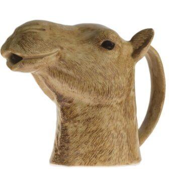 Inusual jarra de camello de cerámica