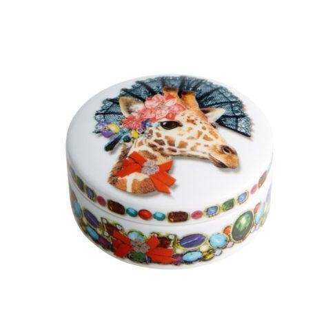 Christian Lacroix Small Round Porcelain Box