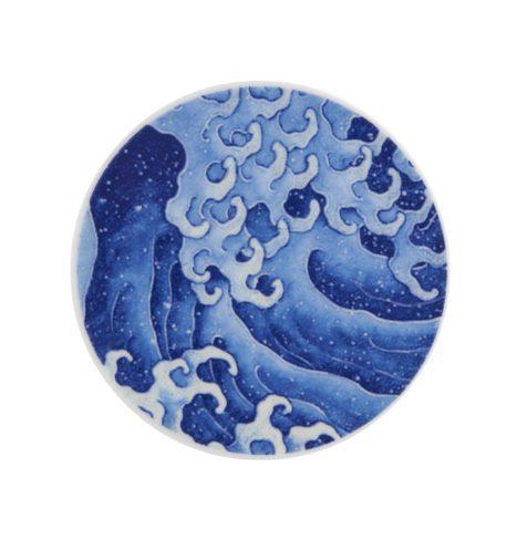 Set de 4 posavasos de Porcelana Onda Va