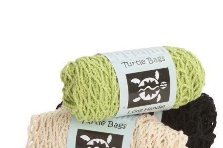 Organic Long Handled String Turtle Bags